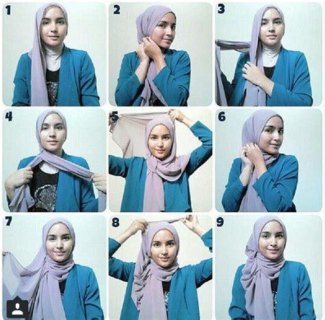 tutorial hijab pashmina rajut hijab tutorial from sister zahra shawl tutorial