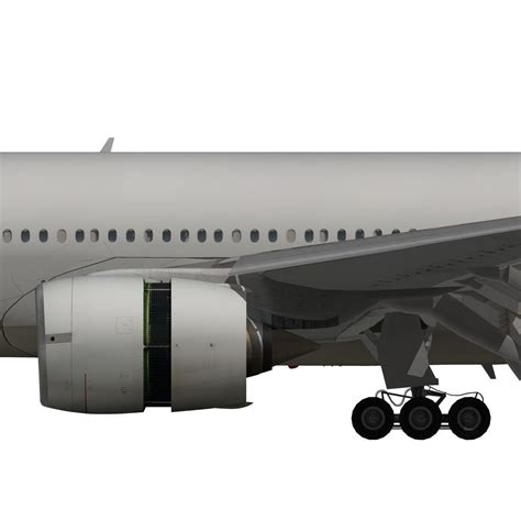 Cardin Asiana 120 X 200 Set boeing 777 200er asiana airlines 3d model animated rigged