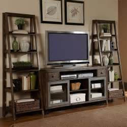 Tv Bookshelves Avignon Five Shelf Ladder Bookcase 72 Quot H Ladder