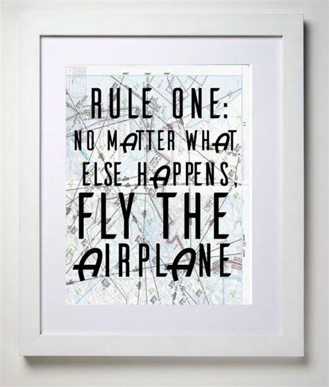 Gifts For Your From On The Fly by Fly The Airplane 8x10 Aviation Map Print Of