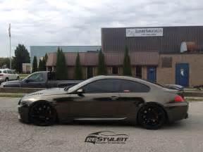 chrome bmw 645 transformation vinyl car wrap car wraps