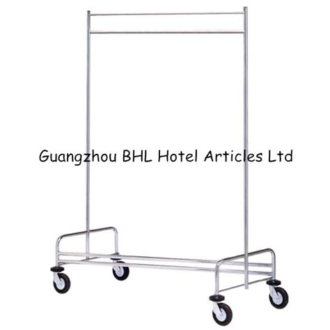 Laundry Cart With Hanging Rack by Stainless Steel Clothes Hanging Rack Hospital Laundry Cart Housekeeping Trolley Severing Trolley