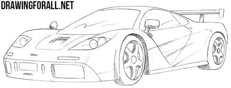mclaren f1 drawing how to draw a mclaren f1 drawingforall