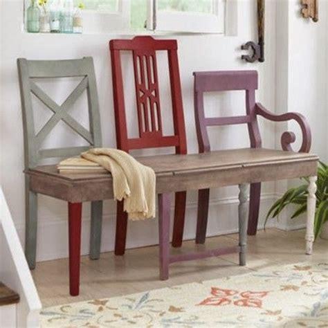 sedie vecchie 17 migliori idee su vecchie sedie su panca