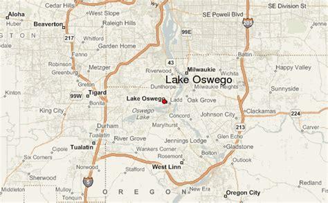 map of oregon lake oswego lake oswego location guide