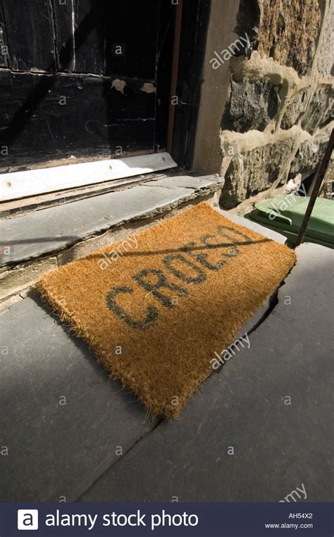 Croeso Doormat by Croeso Stock Photos Croeso Stock Images Alamy