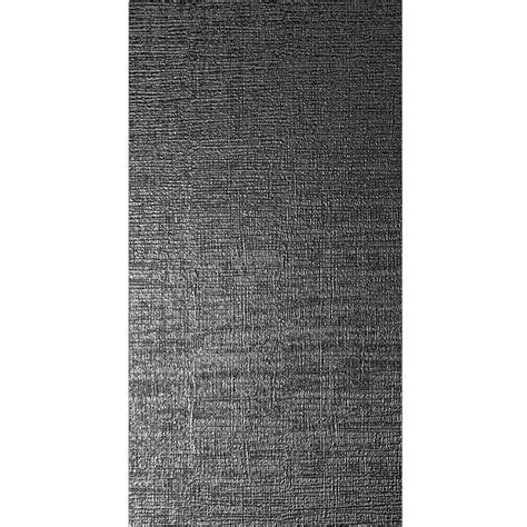 dekor wandfliesen wandfliese vulcano metall dekor schwarz matt 60x120cm