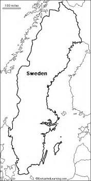 geography blog sweden outline maps