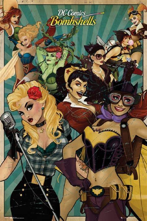 Bombshells   DC Comics   Female Superheroes