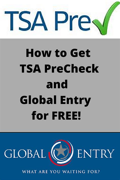how did i get tsa precheck without applying how to get tsa precheck or global entry for free