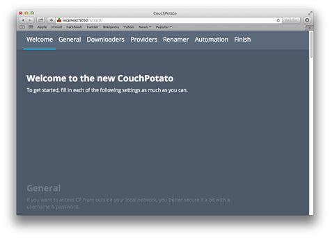 couch potato usenet install couchpotato mac osx for usenet torrent movies