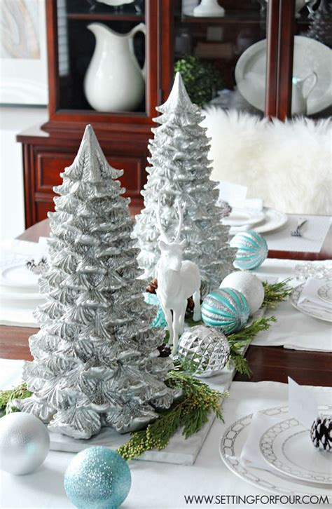 christmas table centerpieces to make 40 easy to make table centerpieces all about