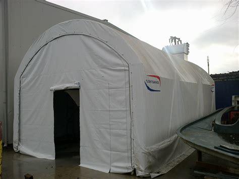 außentür garage paint booth with water treatment plant aua yachtgarage