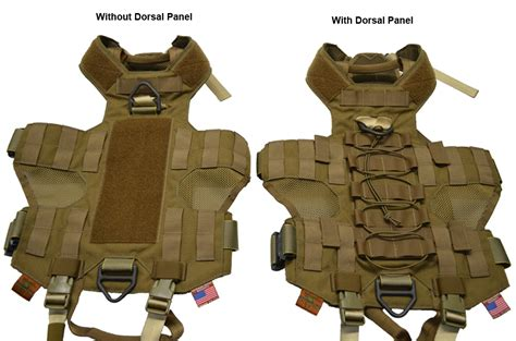 tactical fight fight and flight tactical k9 harness dorsal panel quot closeout quot