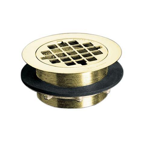 kohler shower drain in vibrant polished brass the home