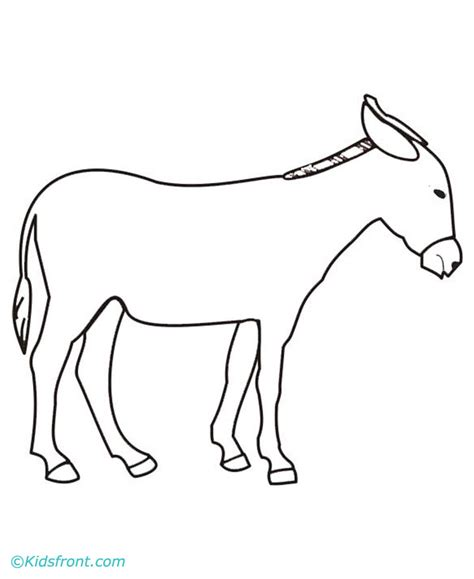 donkey coloring pages preschool donkey coloring pages preschool donkey best free