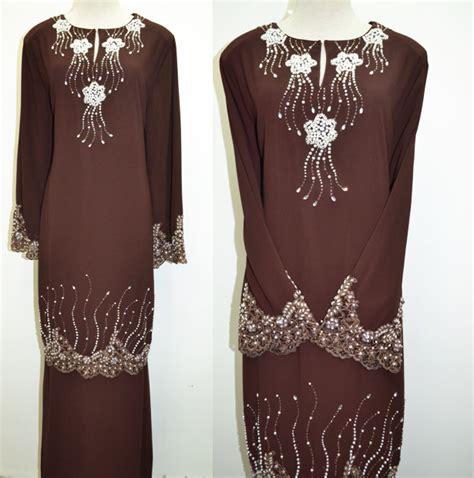 mini kurung block color material silk baju kurung mini butik baju kurung andira