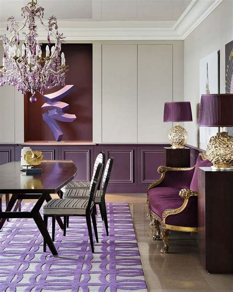purple dining rooms 25 best ideas about purple dining rooms on pinterest