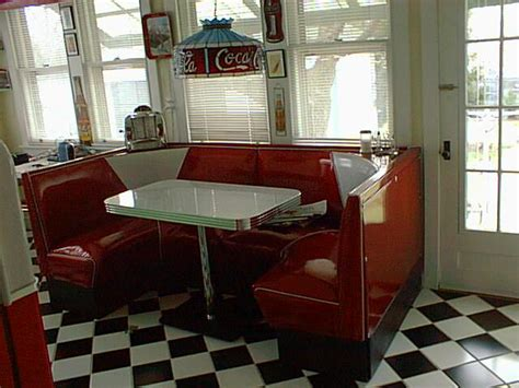 diner booths for home half circle booths restaurant diner retro 1950 s kitchen
