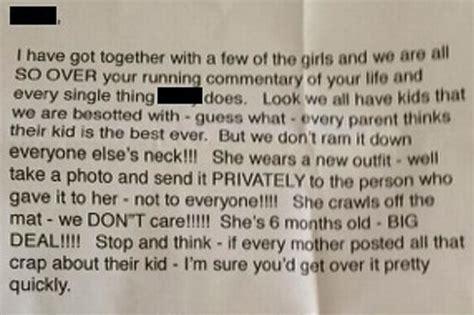 Complaint Letter Meaning shares vicious anonymous poison pen letter accusing