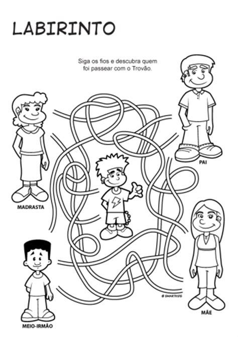 Atividades pedagógicas sobre a família - Educação Online
