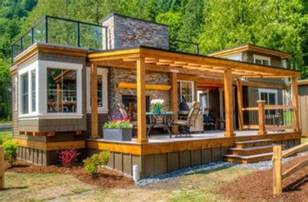 Tiny Tiny Houses by Luxurious Tiny Home With A Roof Top Terrace Diy Cozy Home