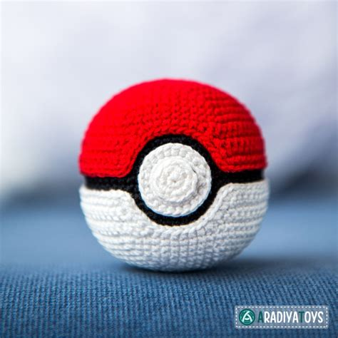pattern games clicking for confidence and connection pokeball quot pokemon quot free amigurumi pattern
