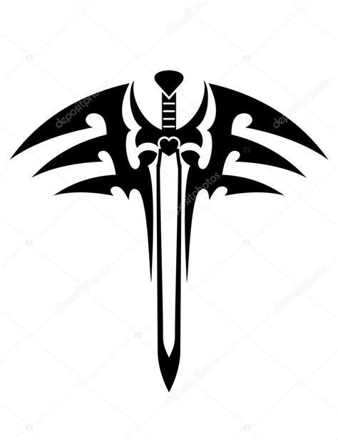 tatouage tribal avec 233 p 233 e image vectorielle 43181247