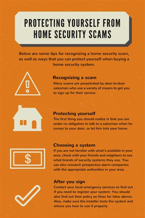 protecting yourself from home security scams family