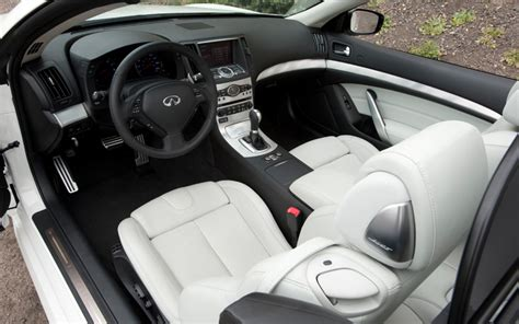 G37 Interior by 2009 Infiniti G37 Convertible Interior View Photo 8