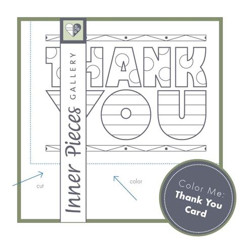 printable thank you cards for librarians printable color me thank you card for kids printables