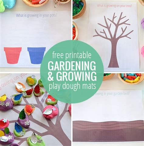 spring printable playdough mats 177 best images about manualidades on pinterest kids