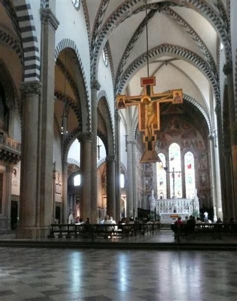 santa novella interno lezioni di storia dell arte il gotico pittura giotto