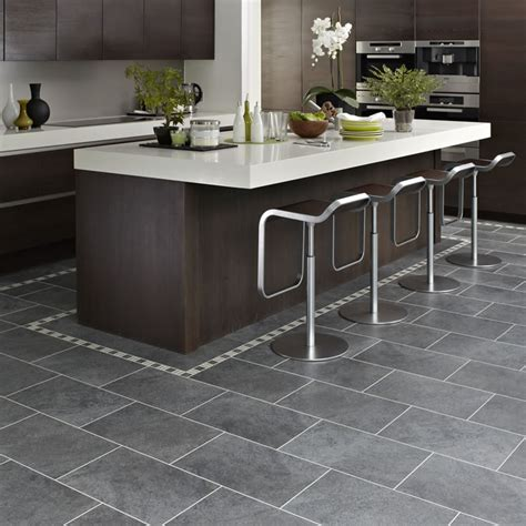 Kitchen Vinyl Floor Tiles Karndean Tile Cumbrian St14 Vinyl Flooring