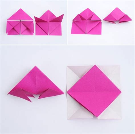Pretty Origami Paper - how to diy beautiful origami paper lantern