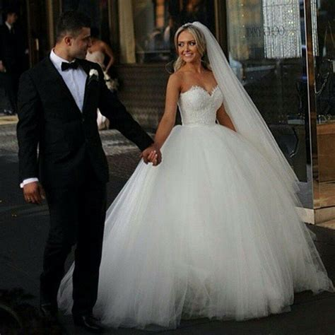 new vintage princess ball gown wedding dresses beaded