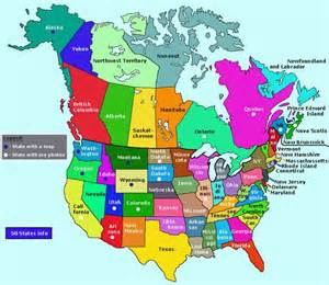 map of canada and usa canada s capital city is ottawa
