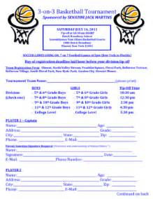 3 On 3 Basketball Tournament Registration Form Template by Basketball Waiver Form Template Fill Printable