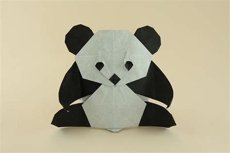 Origami Pandas - pin origami panda tutorial on