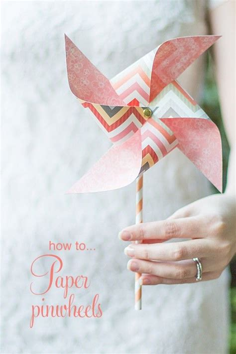 How To Make Tissue Paper Pinwheels - 25 best ideas about pinwheel decorations on