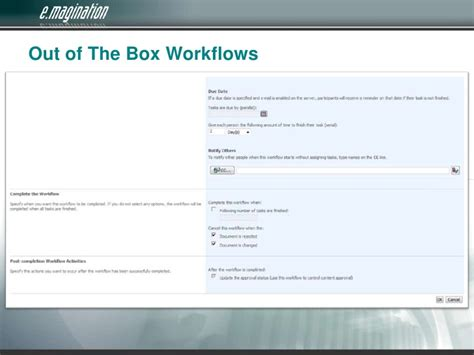 sharepoint out of the box workflows top 8 things you didn t sharepoint could do