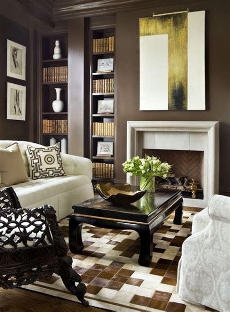 dark brown living room walls dark brown living room walls and brown painted crown