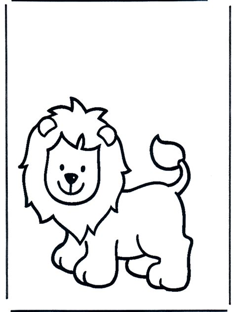 free coloring pages of baby lion cub