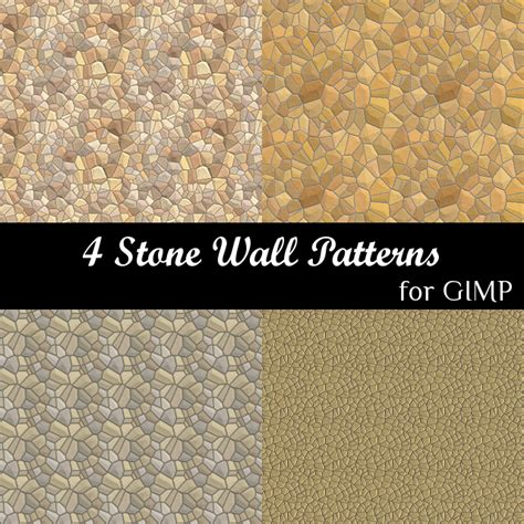 pattern download gimp 4 stone wall patterns for gimp by spaceyoyo on deviantart