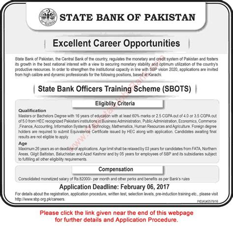 State Bank Application State Bank Of Pakistan 2017 Application Form