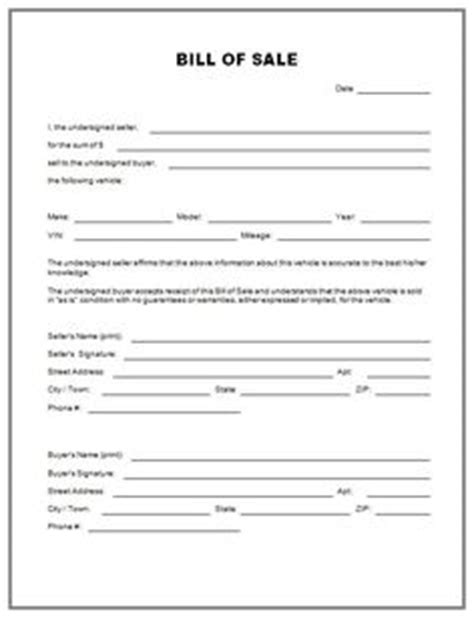 printable version of bill of sale 1000 images about templates on pinterest bill o brien