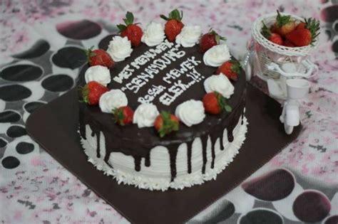 Kue Ulang Tahun Ukuran 22cm Rp 150 000 jual toko kue tart ulang tahun di kediri millati brownies