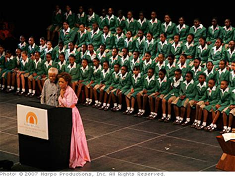 Oprah Opens Second School In Africa by The Leadership Academy Opens