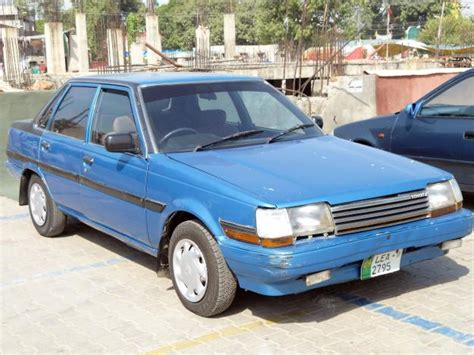 Toyota Corona For Sale In Pakistan Toyota Corona 1984 Sky Blue Color Car For Sale In Lahore
