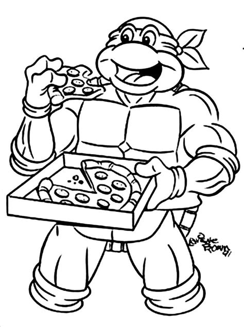coloring pages ninja turtles printables free printable teenage mutant ninja turtles coloring pages
